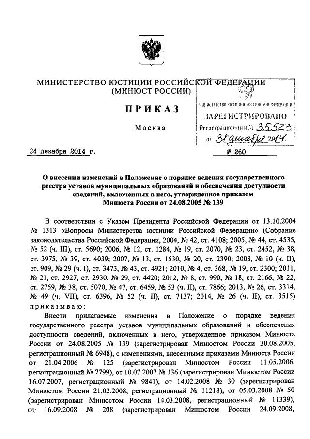 Приказ Министра Обороны Российской Федерации № 1871 От 17.12.2010